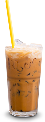 Thai iced coffee is a treat during your budget travel adventures